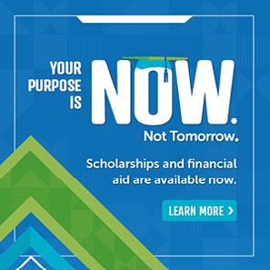Now. Not Tomorrow. Scholarship Initiative